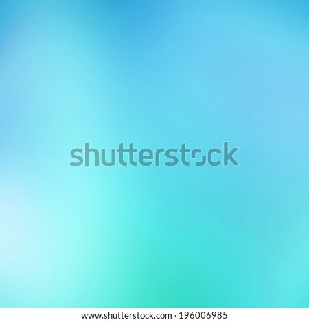 Abstract turquoise  background - stock photo
