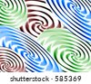 Abstract twirl background - stock photo