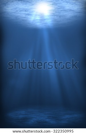 abstract underwater backgrounds for your design - stock photo