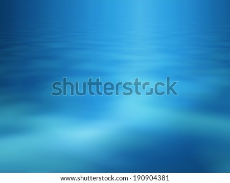 Abstract underwater view for background - stock photo