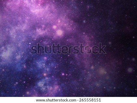 Abstract universe background. - stock photo