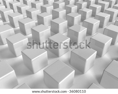 abstract urban background - 3d rendering