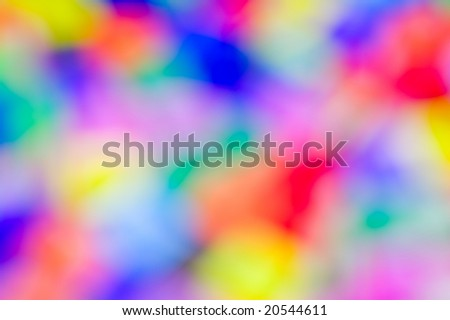 Abstract varicolored blurred spots. Background