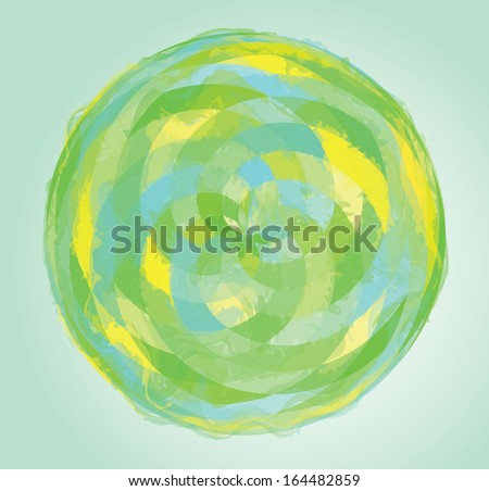 Abstract vector illustration. - stock photo