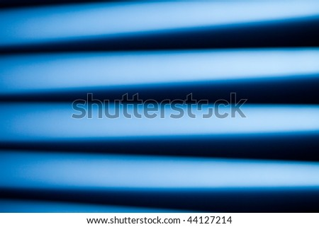 abstract view of streaked lights - stock photo