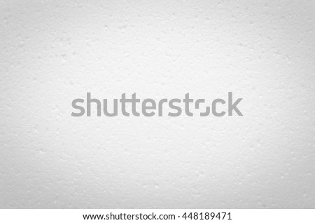 Abstract, Vignette on the Foam background, Can use for wallpaper and backdrop. Selective center point focus. - stock photo