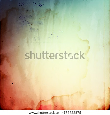 Abstract vintage grunge  paper textured background - raster version - stock photo