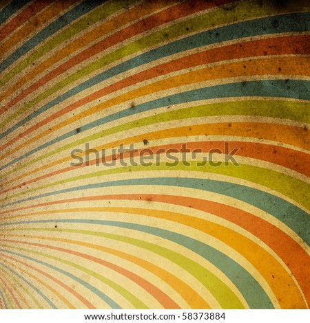 Abstract vintage rays background. Useful as background for design works. - stock photo