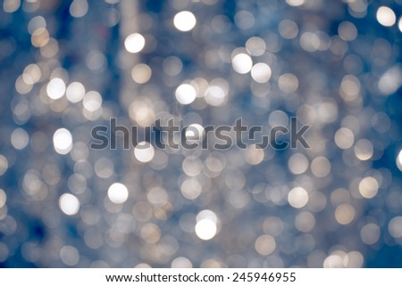 abstract vintage white and silver bokeh  background with texture - stock photo