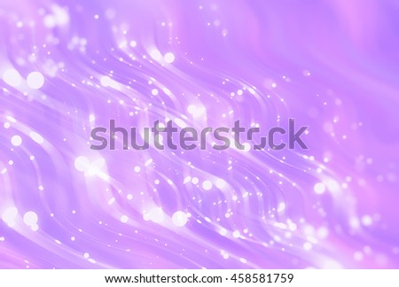 Abstract violet elegant background with glitter and waves