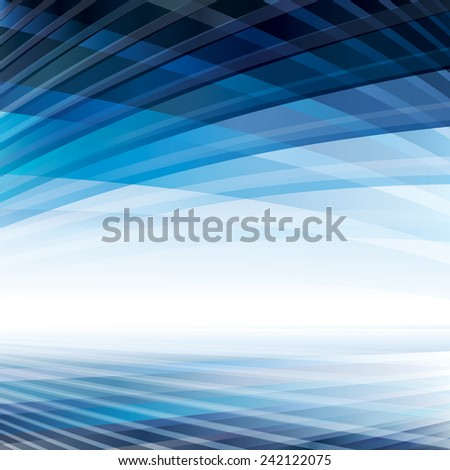 Abstract virtual perspective space background. - stock photo