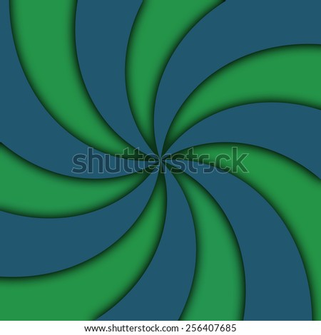 Abstract vortex wallpaper with two combinations of colors - stock photo