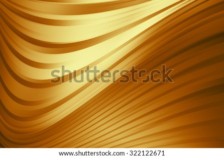 abstract warm curves - stock photo