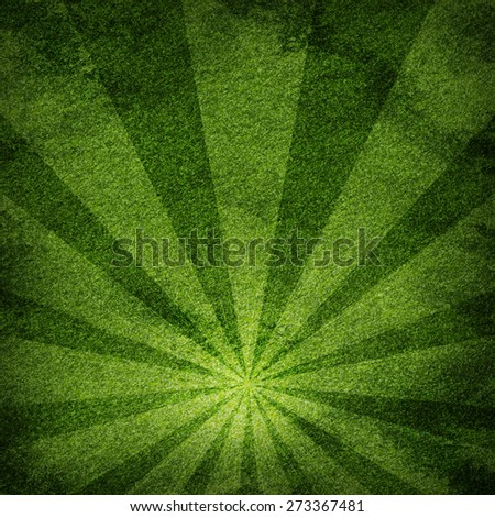Abstract warm green and texture backround. Light with stripes. Place your product at bottom - stock photo