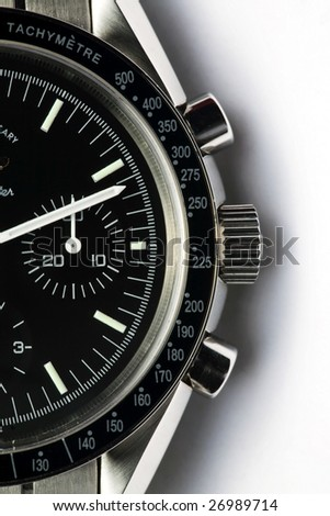 Abstract Watch Close-Up - stock photo