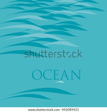 abstract water background  illustration
