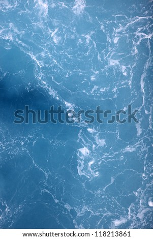 Abstract Water Background, Sea Waves - stock photo