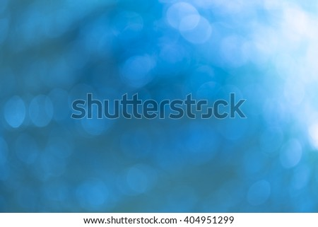 abstract water, Bokeh backgrounds blue water splash.