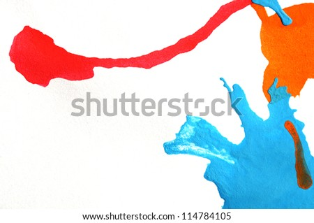 abstract water color for background