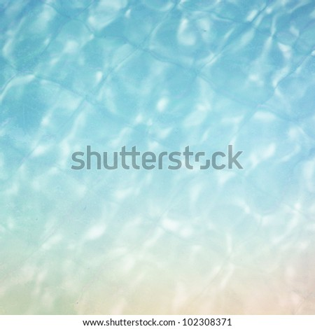 abstract water pattern background. - stock photo