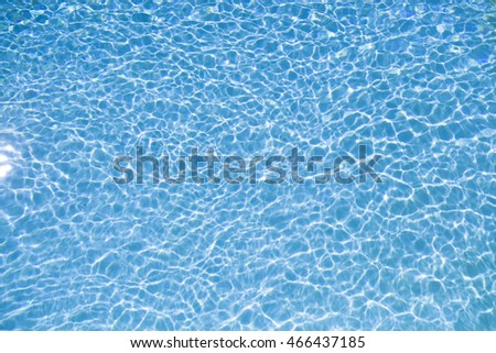 Abstract water  ,Pattern in swimming pool background.