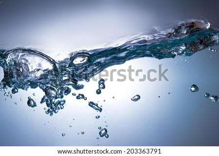 abstract water wave