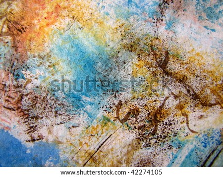 Abstract Watercolor 16 - stock photo