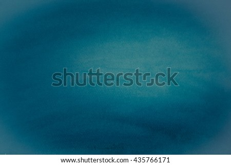 Abstract watercolor art hand paint background - stock photo