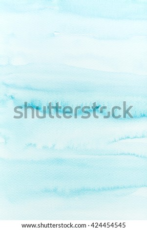 Abstract Watercolor Background (hand-painted) - stock photo