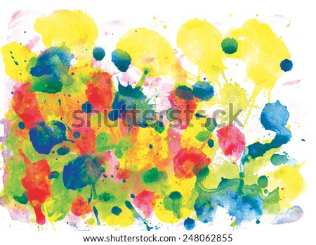 abstract watercolor background. handwork. suitable for a variety of designs and scrapbooking.