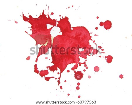 abstract watercolor background splatter design - stock photo