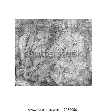 Abstract watercolor black background texture - stock photo