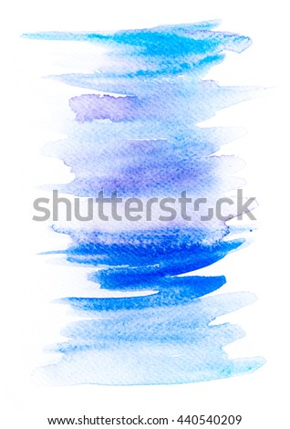 Abstract watercolor hand paint texture, isolated on white background, watercolor textured backdrop and watercolor drop. Watercolor background for text and backgrounds. - stock photo