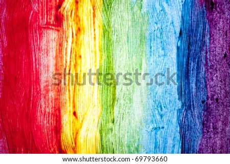 Abstract watercolor hand painted - stock photo
