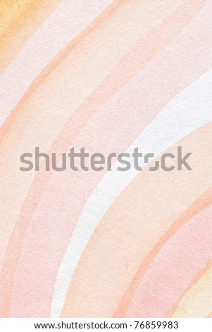 Abstract watercolor hand painted artistic background. Made myself. - stock photo