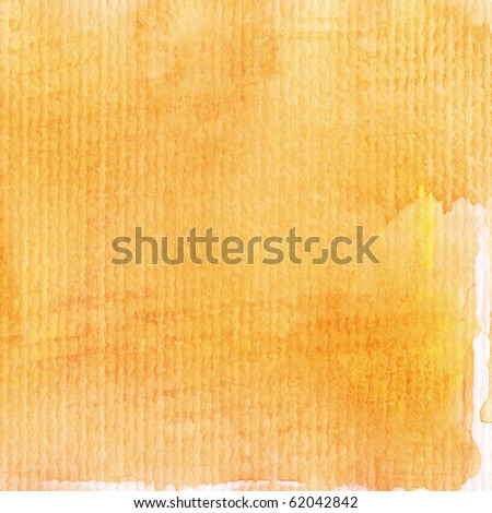 Abstract watercolor hand painted background - stock photo