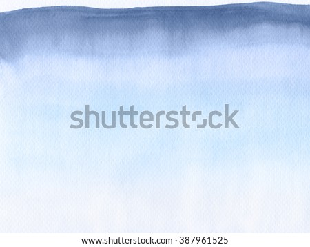 Abstract watercolor hand painted background. Serenity Tint Watercolour Texture Gradient. Pastel Colored Palette. - stock photo