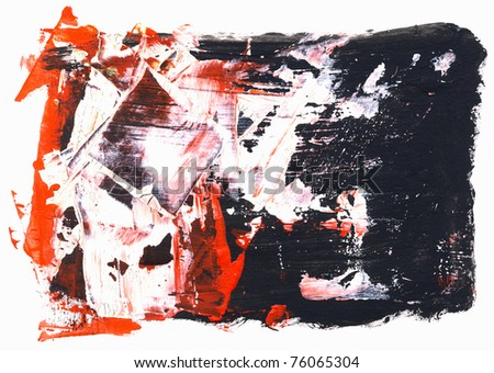 Abstract watercolor hand painted by me. Nice background for your projects. - stock photo