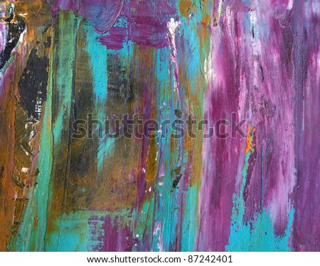 Abstract watercolor hand painted by me.  Nice background or texture for your projects. - stock photo