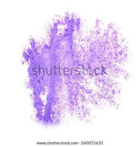 Abstract watercolor lilac background for your  design insult