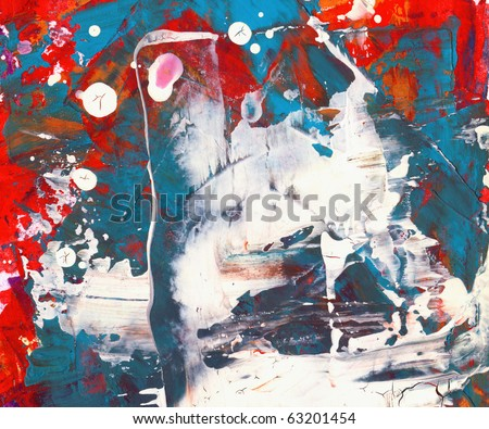 Abstract watercolor , nice grungy background for your projects - stock photo
