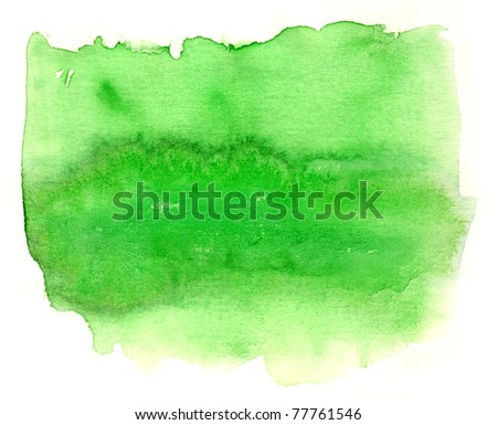Abstract watercolor on white hand painted by me .  Nice background for your projects. - stock photo