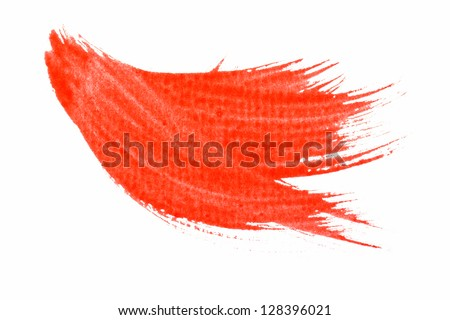 Abstract watercolor painted background. - stock photo