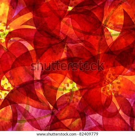 Abstract watercolor painted background - stock photo