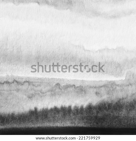 Abstract watercolor painted background. Paper texture. - stock photo