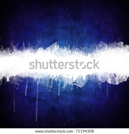Abstract watercolor painted on canvas texture background - stock photo