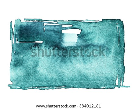 Abstract watercolor pattern background - stock photo
