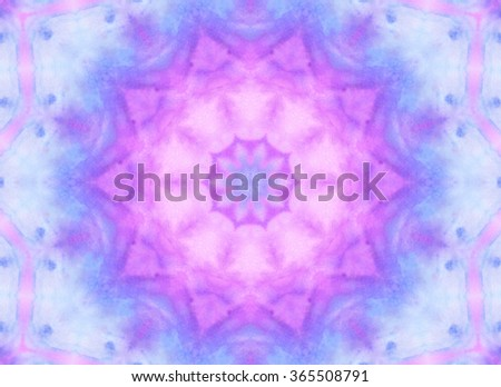 Abstract watercolor pattern for design - stock photo