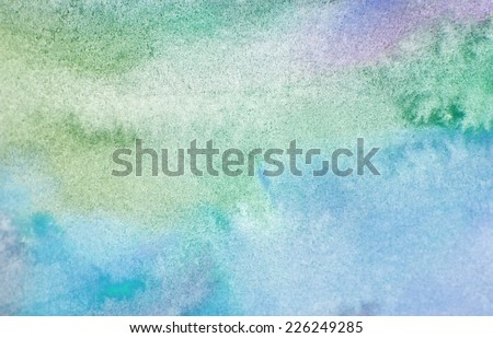 Abstract watercolor stains. Background - stock photo