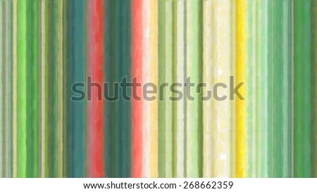 abstract watercolor stripes background - stock photo